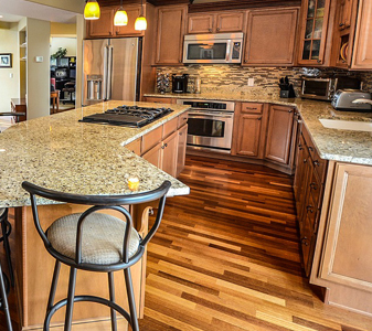 Wadsworth Flooring and Home is your one-stop shop to bring the kitchen of your dreams to life