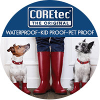 COREtec Flooring - Waterproof | Kid Proof | Pet Proof