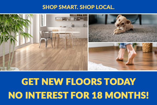 Get New Floors Today No Interest For 18 Months! Only at Wadsworth Flooring & Home in South Daytona, Florida. Shop Smart Shop Local.